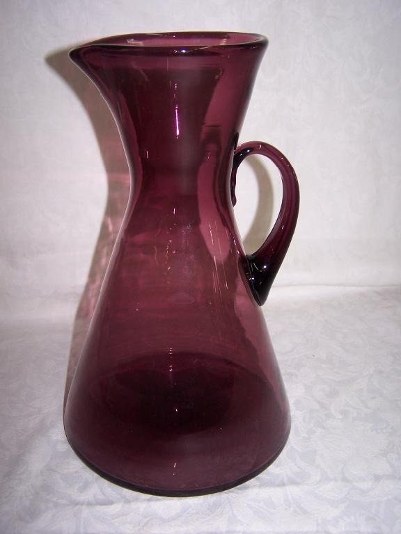 Large Amethyst Pitcher