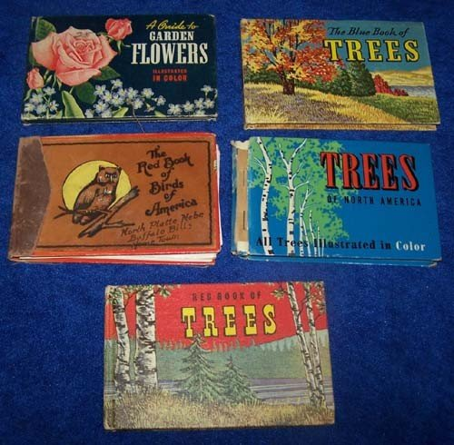 2: Lot of 5 Nature Books