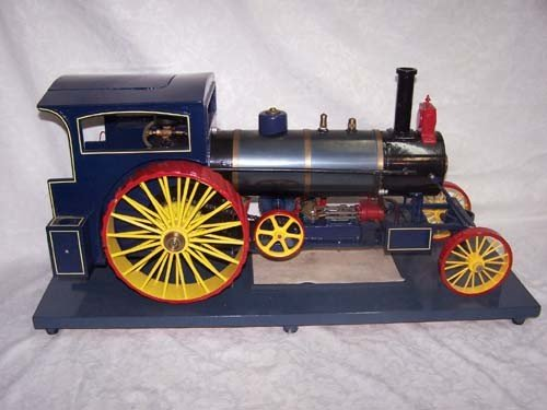 14: Live Steam Model Tractor