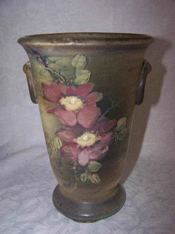 16: Matte Glazed Vase by Weller