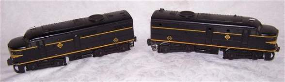 45: 2 Lionel Erie #2032  Alco A-A Diesel with Box