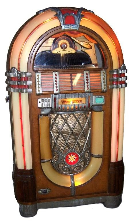 91: Vintage Wurlitzer Jukebox