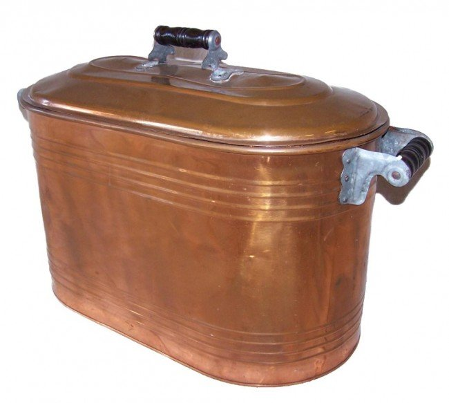 4: Copper Laundry Tub