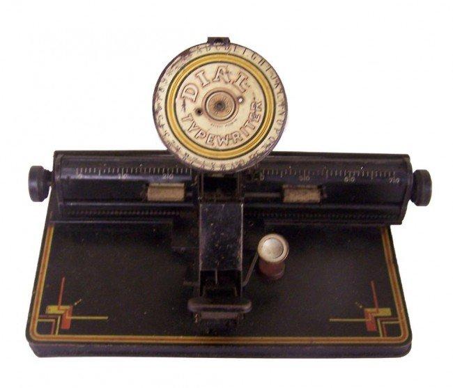 5: Dial Typewriter