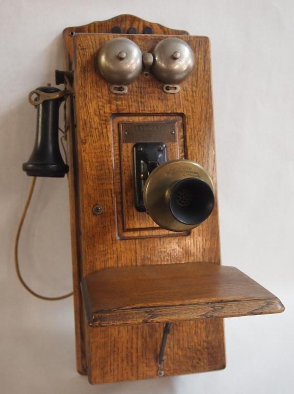 21: Oak Telephone Case