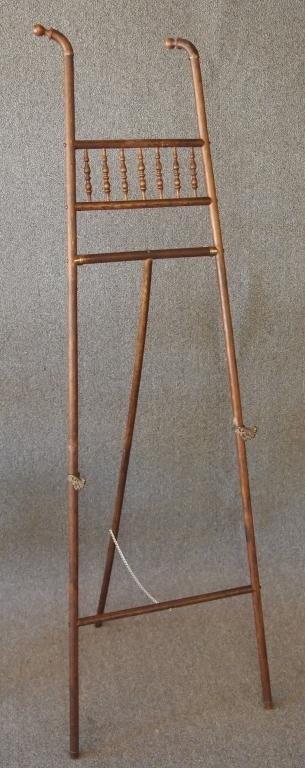 23: Victorian Oak Easel