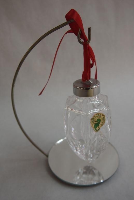 7: Waterford Crystal Hanging Perfume