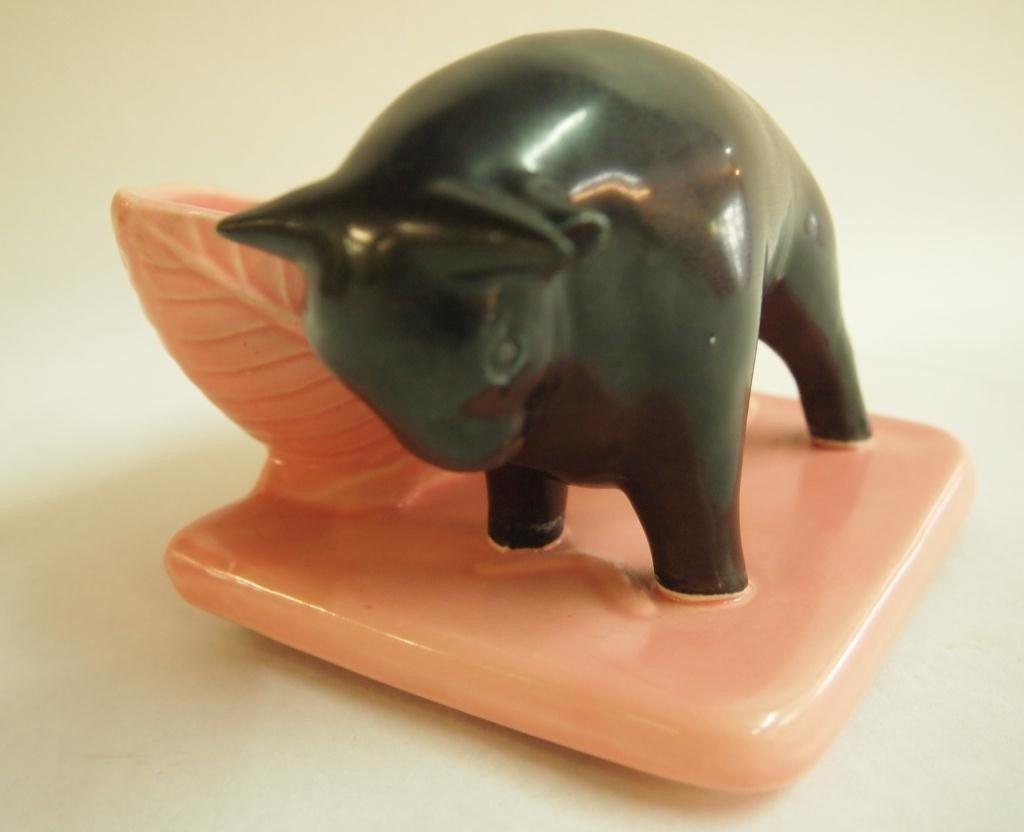 13: Shawnee Pottery Bull Planter