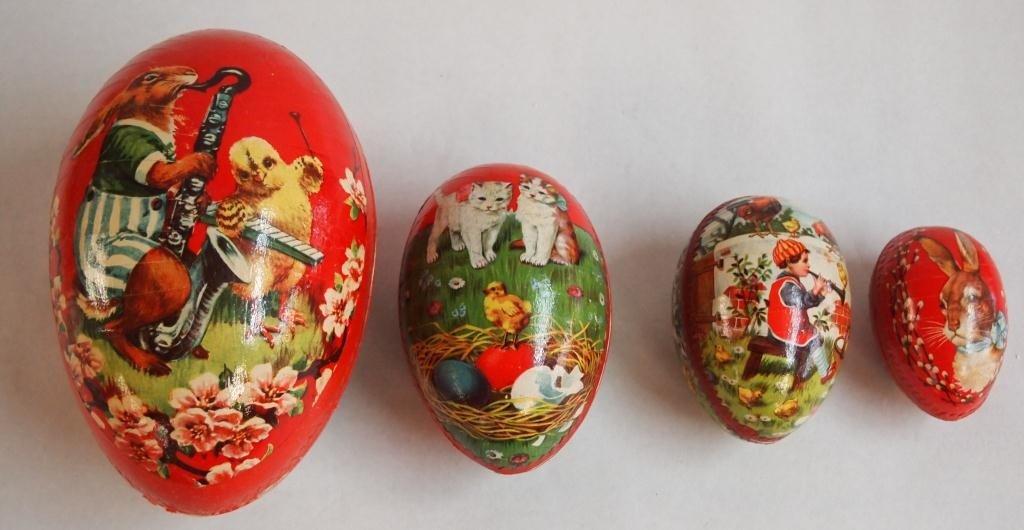 2: Nest of Paper Mache Eggs- Germany