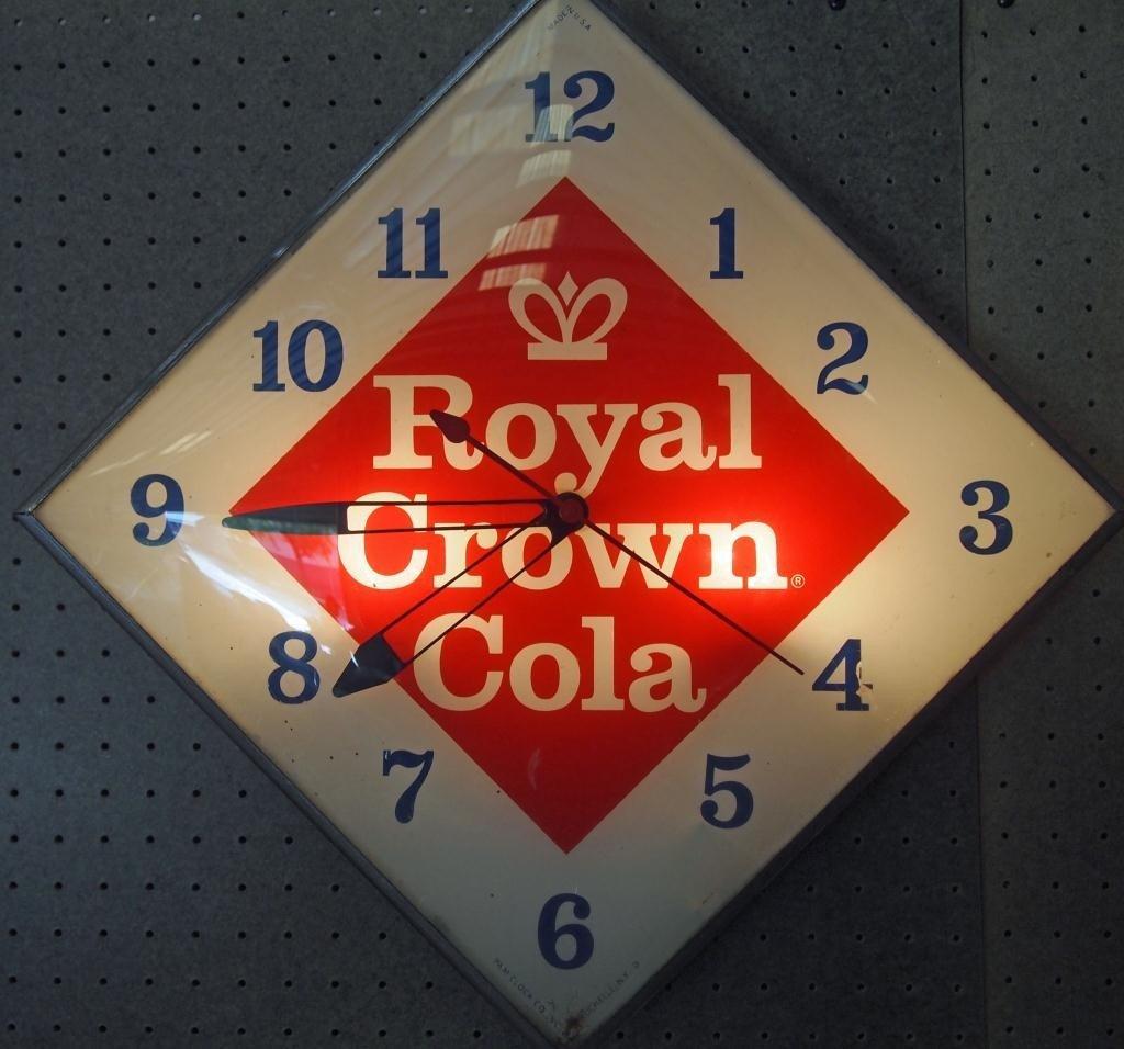 162: Royal Crown Cola Clock