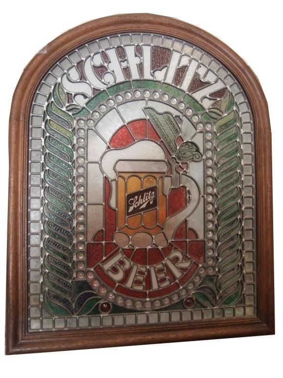 163: Schlitz Light Up Beer Sign - 2