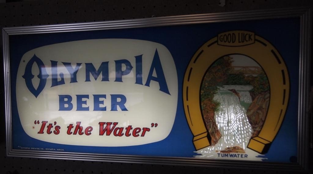 """167: Olympia Beer """"It's the Water"""""""