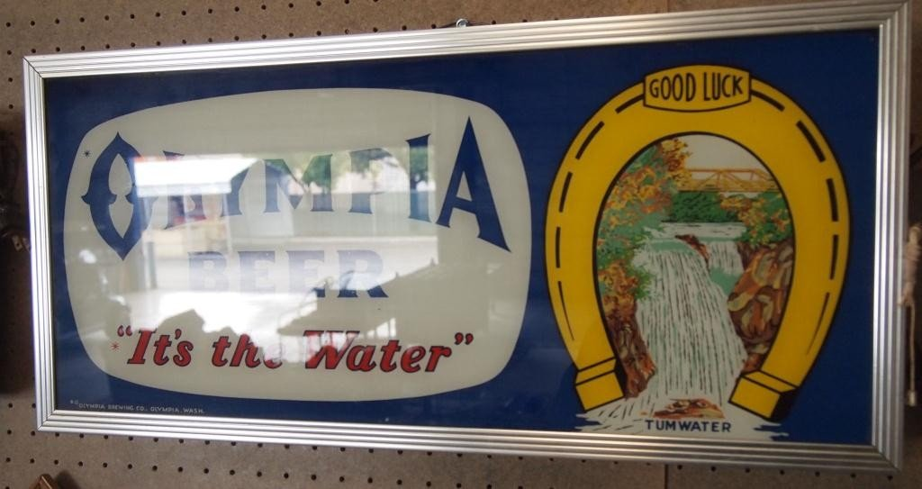"""167: Olympia Beer """"It's the Water"""" - 2"""