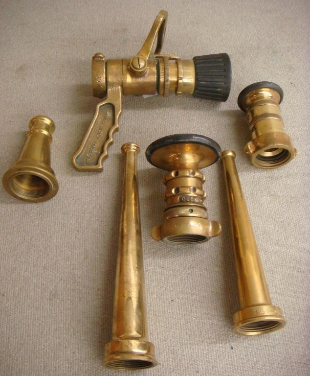 18: 6- Firehouse Nozzles - Brass
