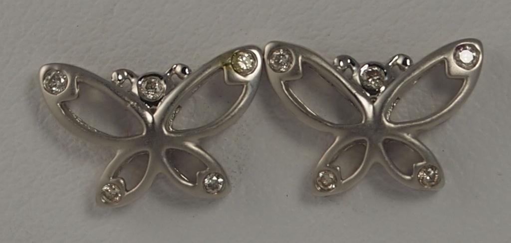17: Gabriel & Co. Butterfly Earrings
