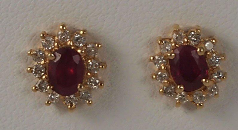18: Ruby Earrings