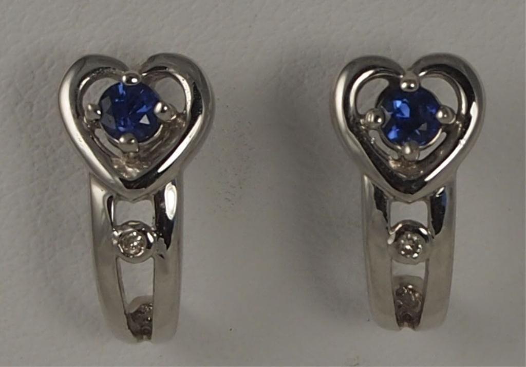19: Heart Earrings