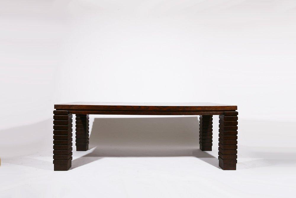 Henry Jacques Le Meme, Dining table, c.1930