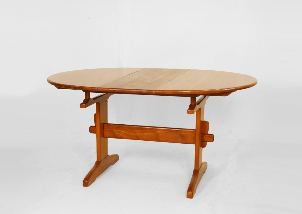 Bataille, Extendable dining table, c. 1940