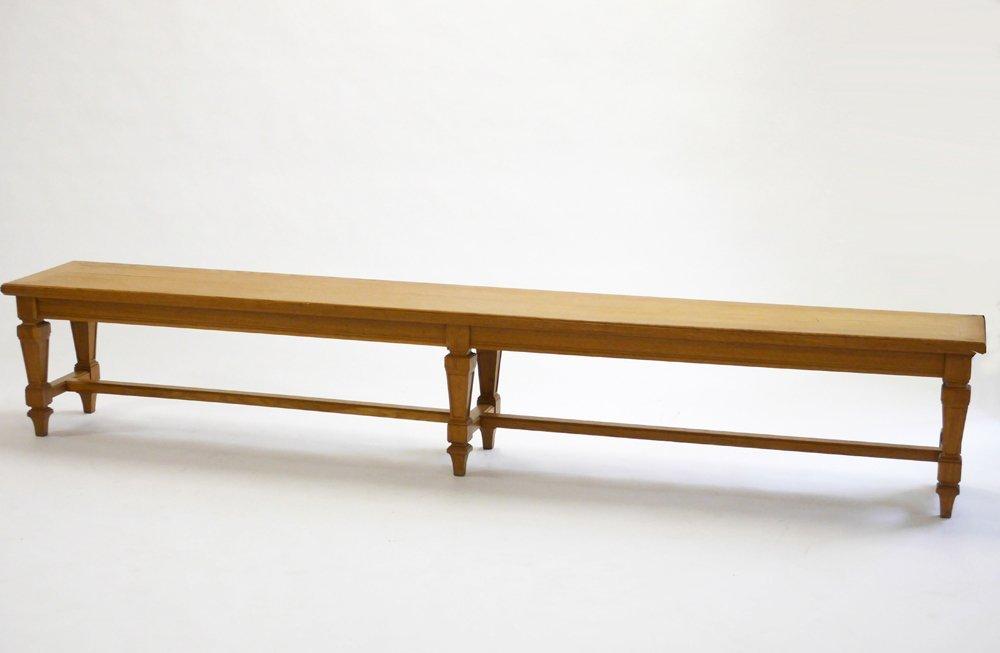 Andre Arbus, Oak bench, c. 1940 - 3