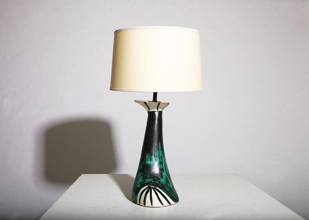 Vallauris, Table lamp, circa 1950