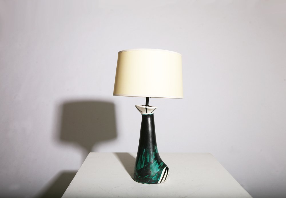 Vallauris, Table lamp, circa 1950 - 2