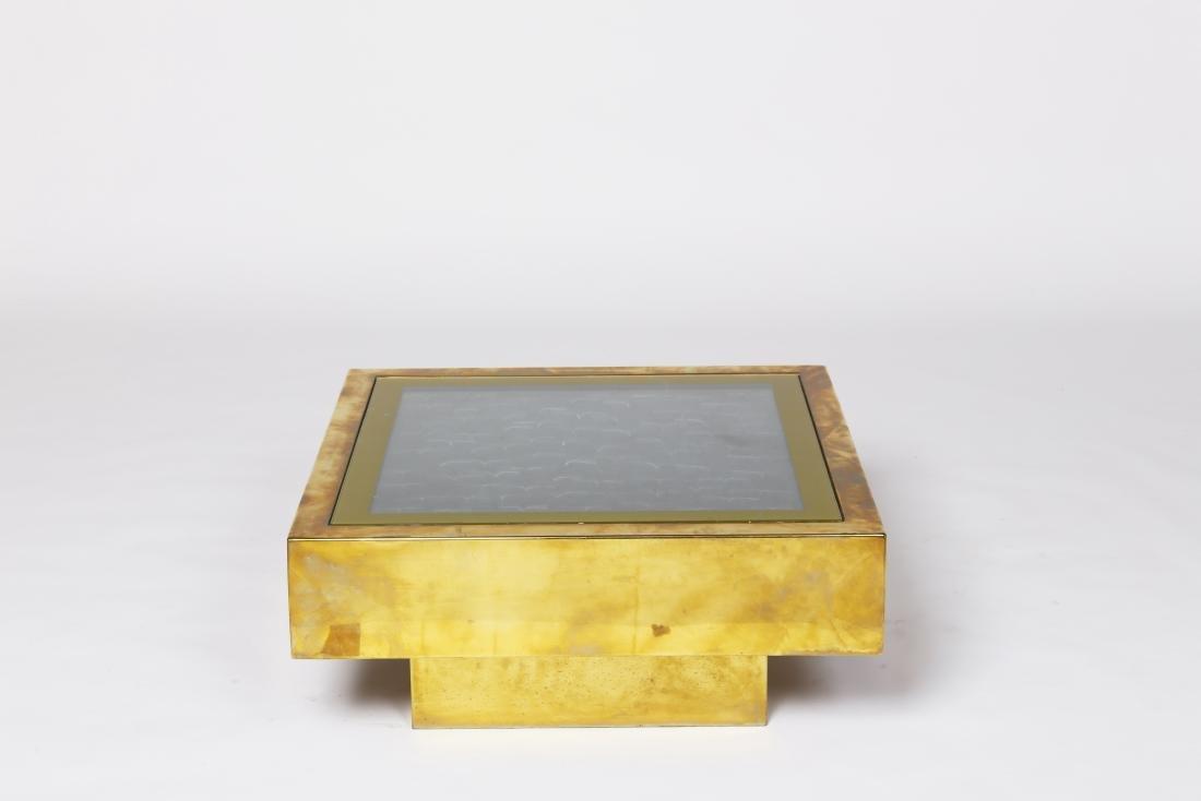 French 1970, Fiberlights coffee table, c. 1970