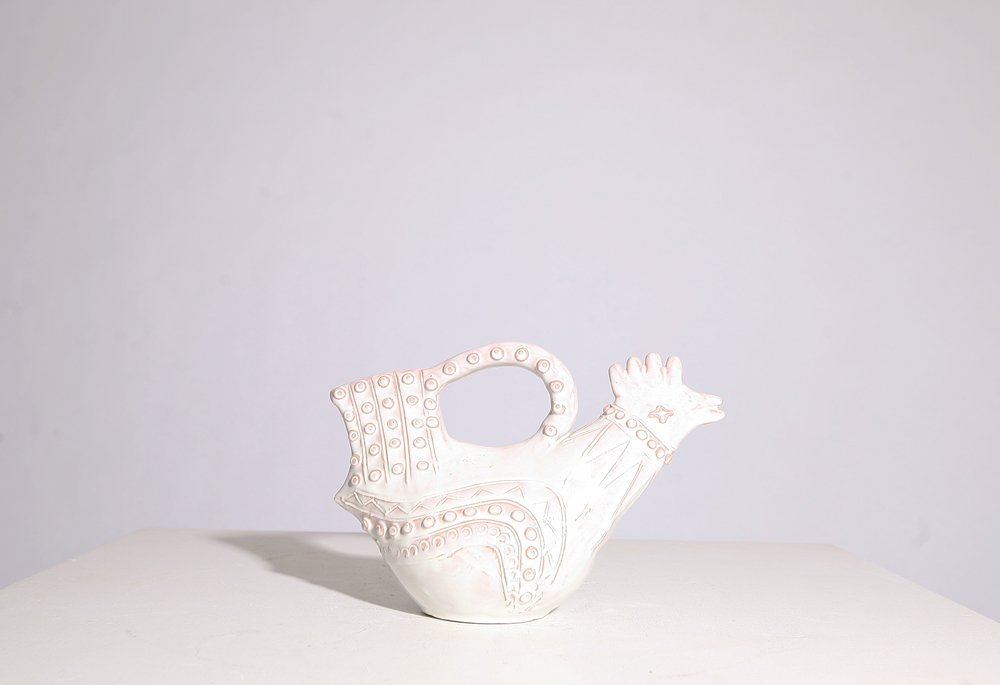 André Baud, Ceramic sculpture of bird, 1950
