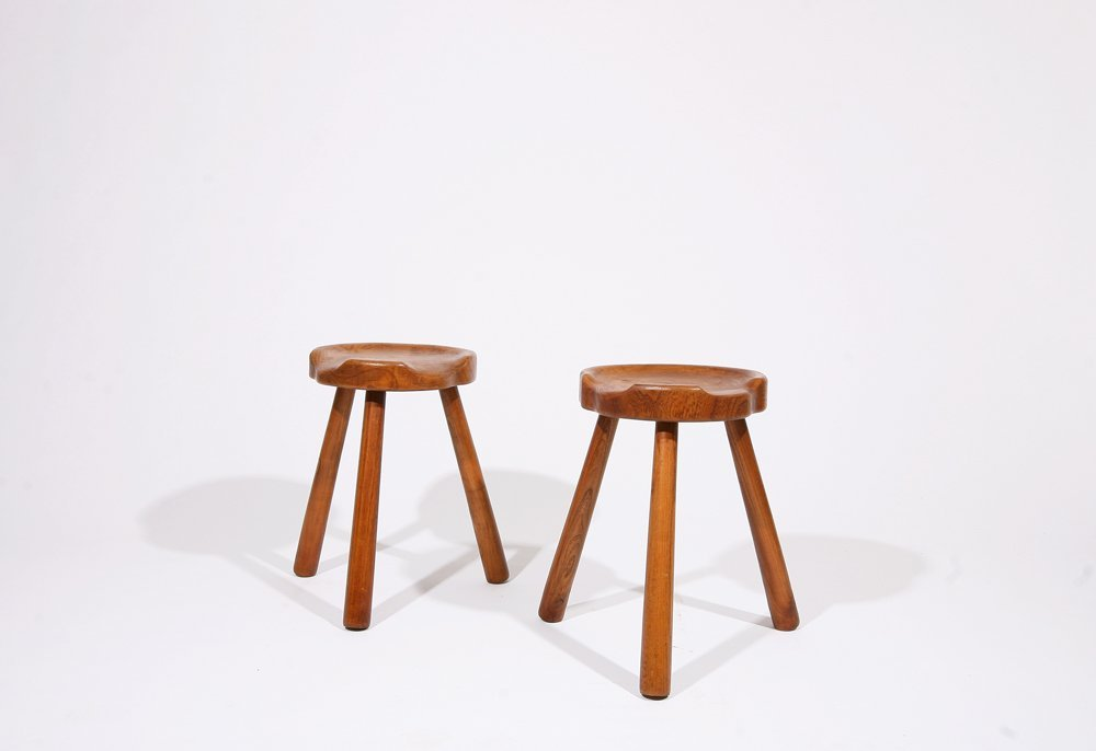 Anonymous, Pair of stools, c. 1950