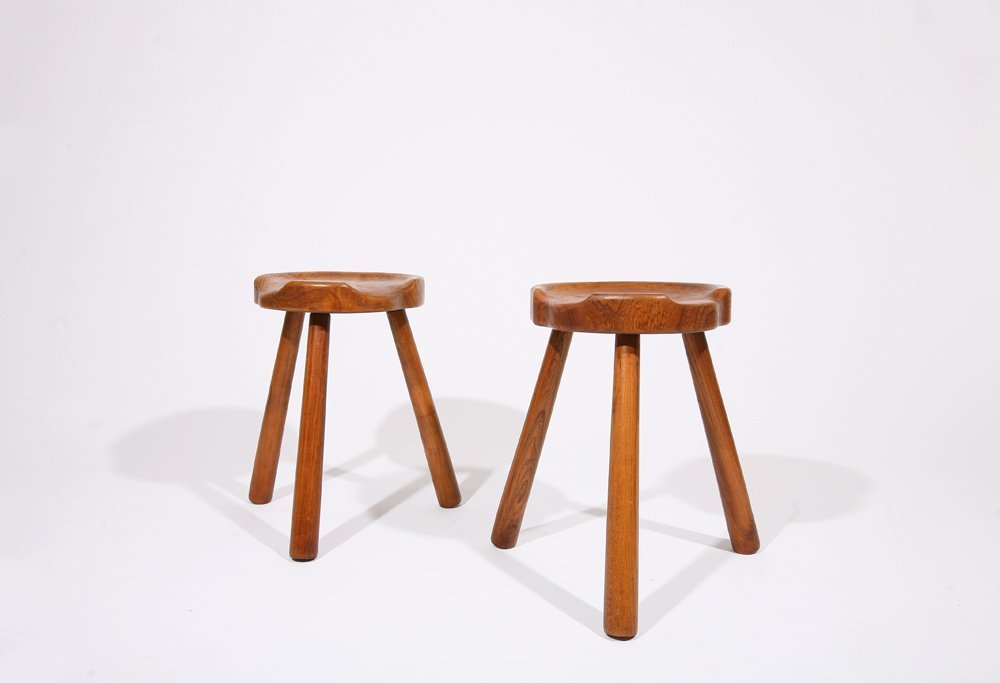 Anonymous, Pair of stools, c. 1950 - 2