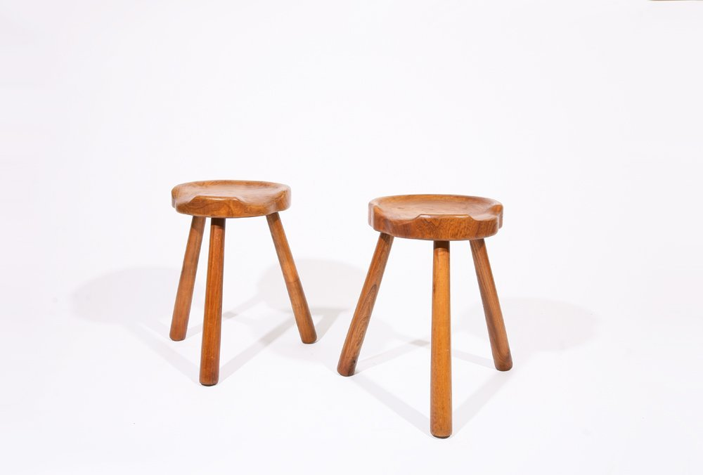 Anonymous, Pair of stools, c. 1950 - 3