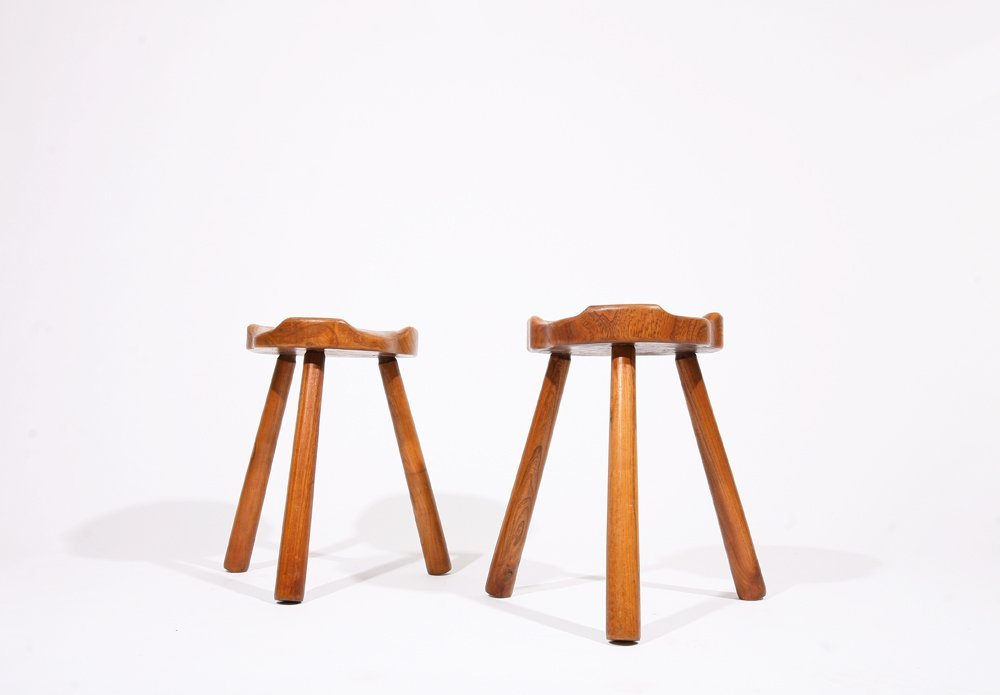 Anonymous, Pair of stools, c. 1950 - 5