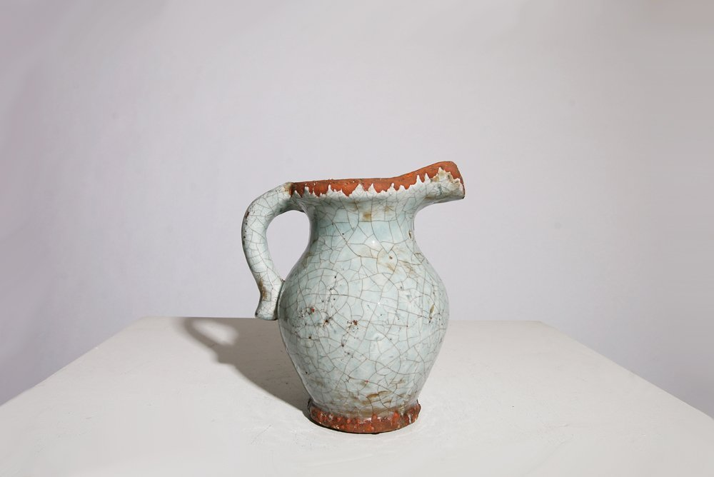 French 1950, Ceramic Pitcher , c. 1960