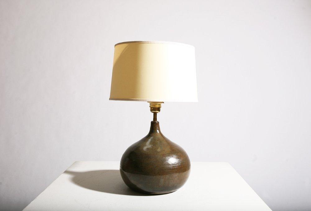 Yvonne Seyve and Josianne Chaudet, Ceramic lamp, c.1960