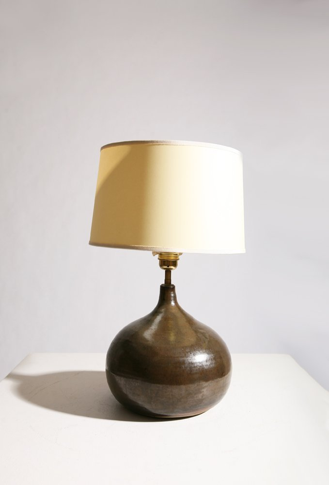 Yvonne Seyve and Josianne Chaudet, Ceramic lamp, c.1960 - 2