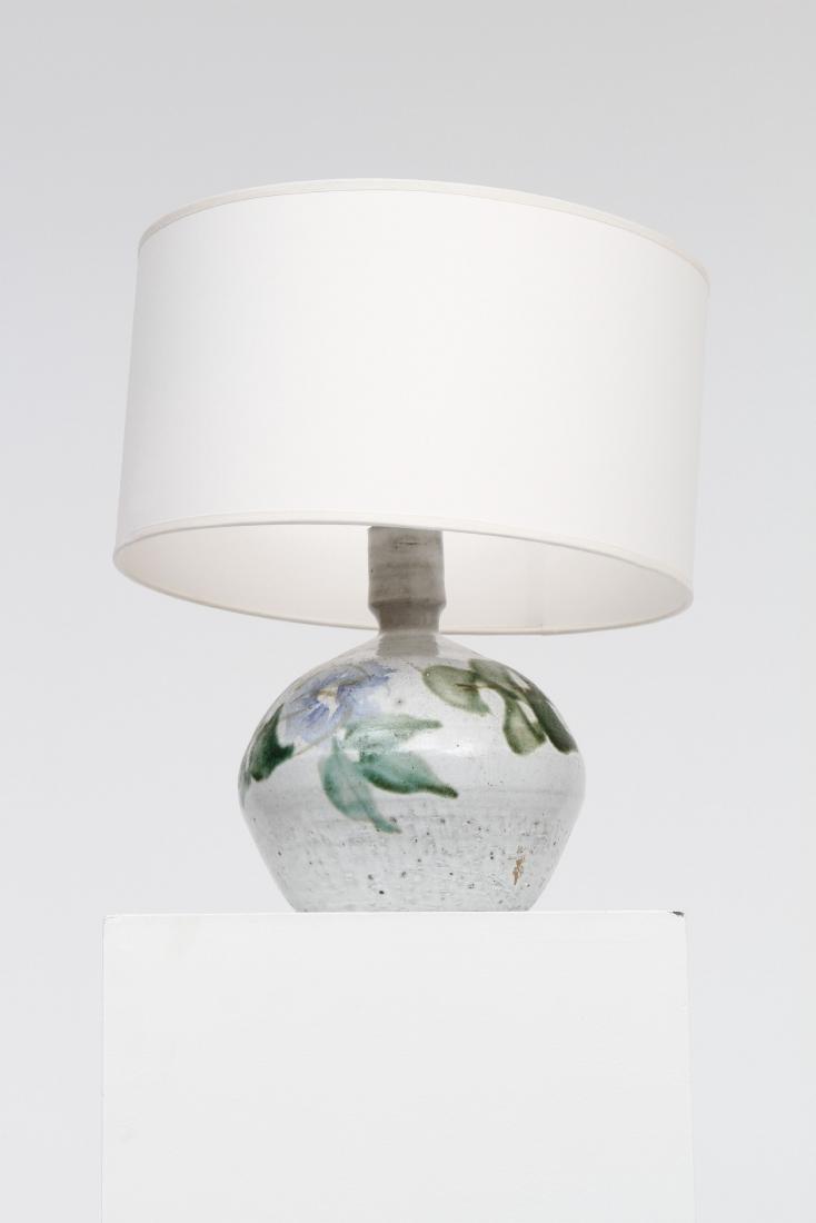 Albert Thiry , White ceramic lamp, c. 1960