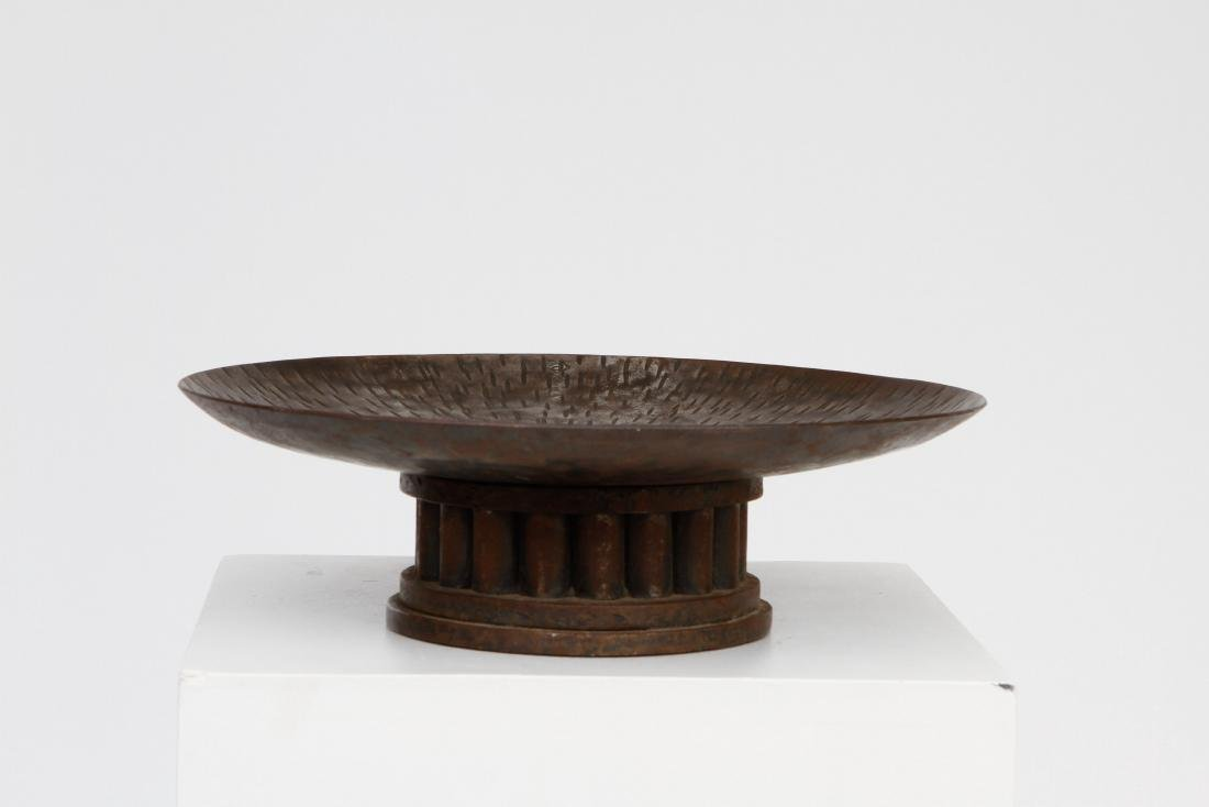 French 1970, Metal tidy, c. 1970