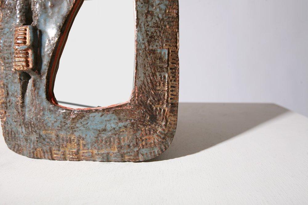 Juliette Derel, Ceramic mirror, c. 1950 - 3
