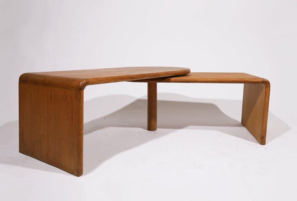 "Guillerme et Chambron, ""Fanette"" foldable wooden coffee - 3"