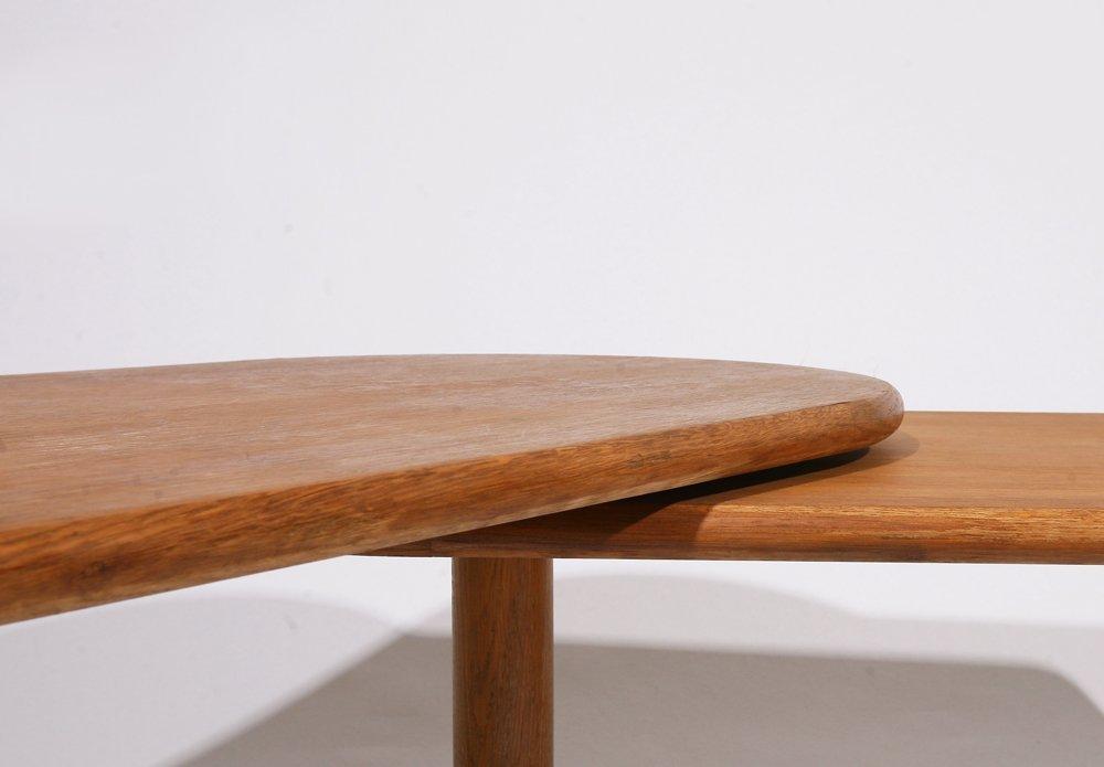 "Guillerme et Chambron, ""Fanette"" foldable wooden coffee - 7"
