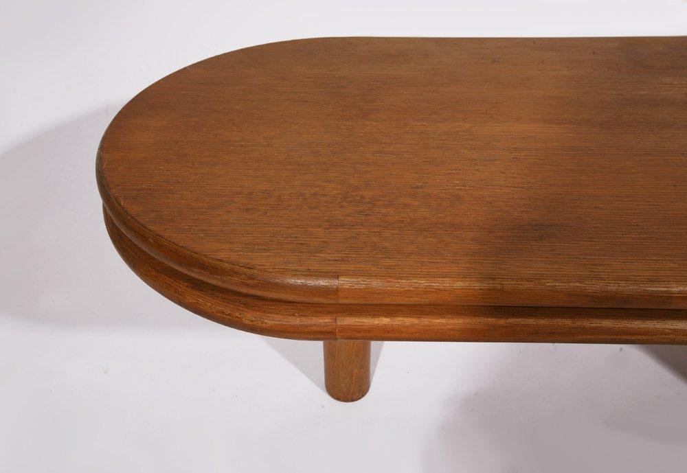 "Guillerme et Chambron, ""Fanette"" foldable wooden coffee - 8"