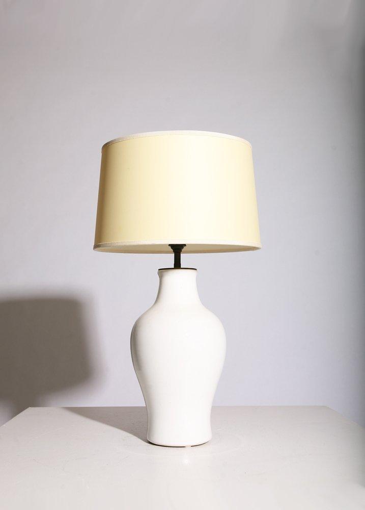 Pol Chambost, Ceramic table lamp, circa 1950. - 2