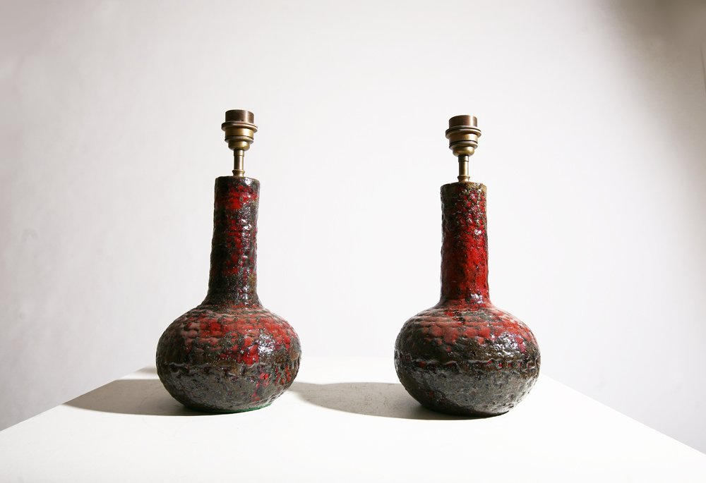 French 1960, pair of table lamps, circa 1960. - 3