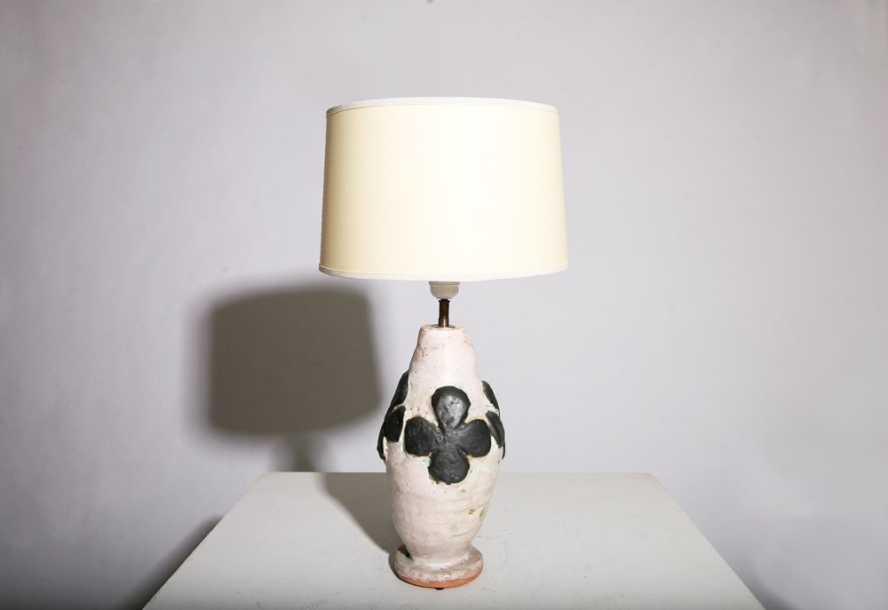 French 1950, Table lamp, circa 1950