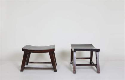Unknown artist -  Pair of stools