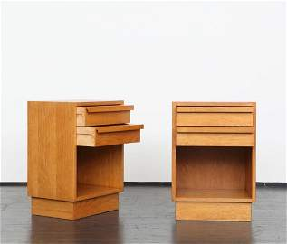 Andre Sornay (1902 - 2000) - Pair of End Tables