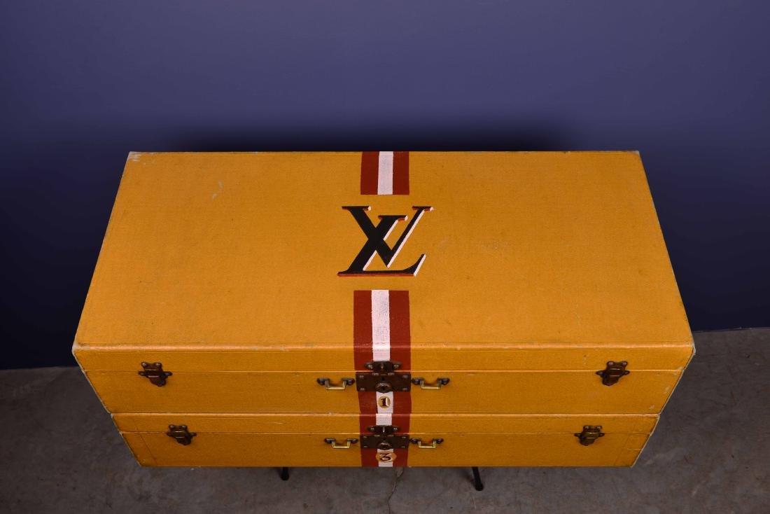 Pair of Louis Vuitton Trunks