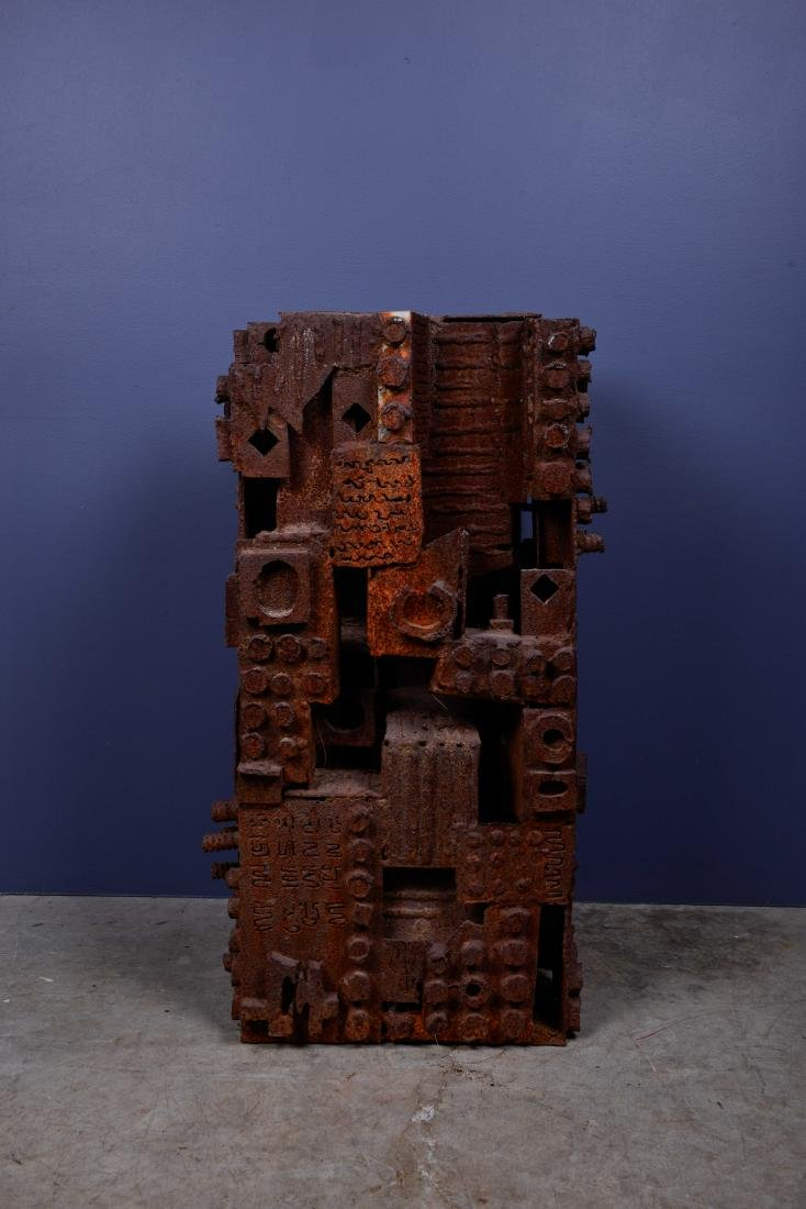 Bill Tarr Monumental Brutalist Sculpture