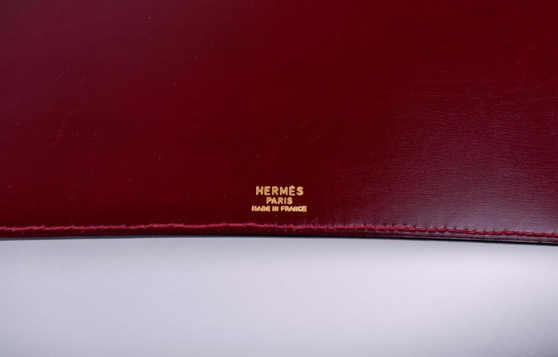 Hermes Paris Oxblood Photo Album - 3
