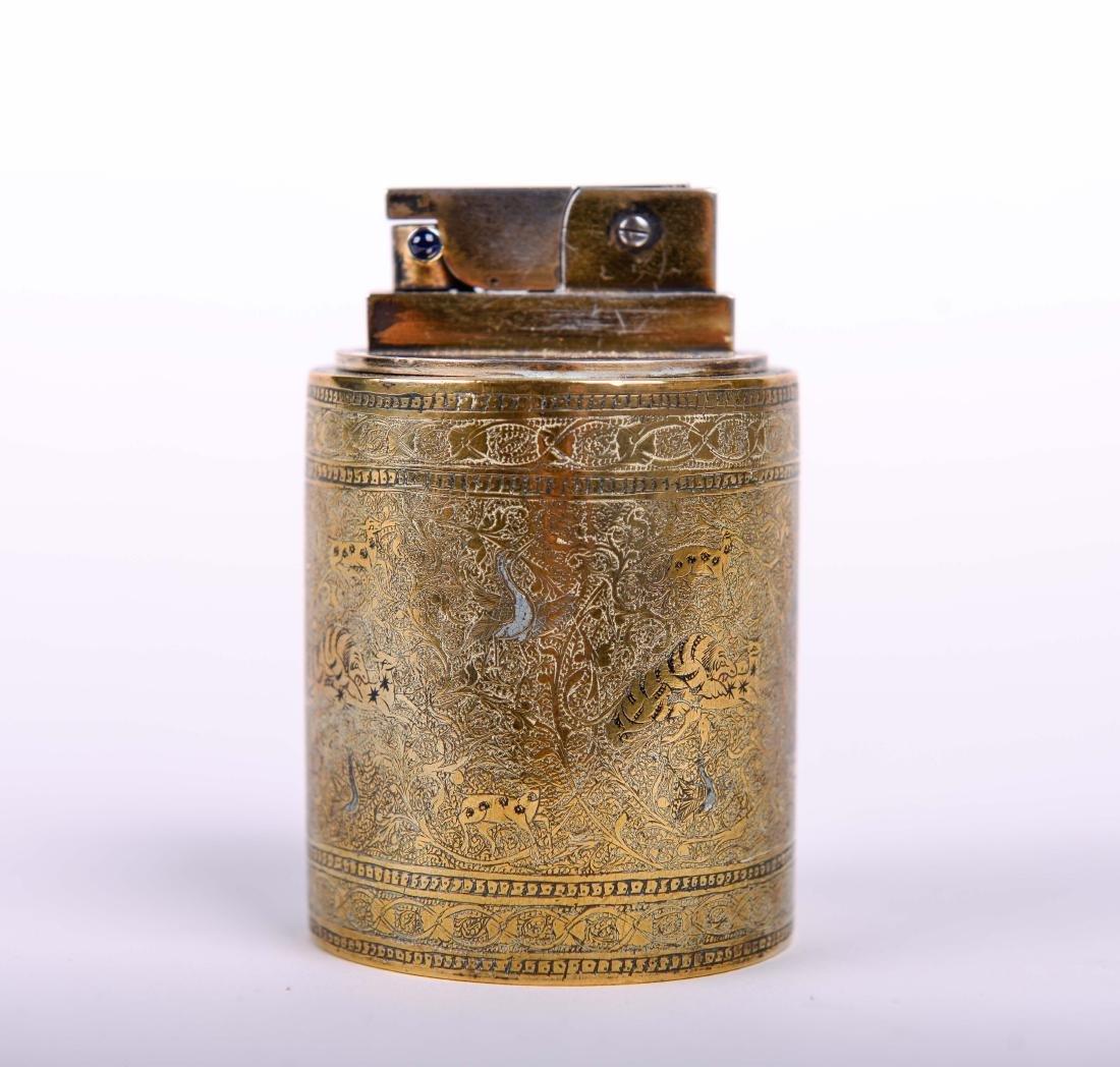 Cartier Paris Lighter with Persian Motif - 2